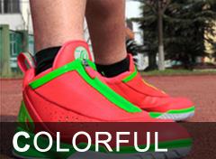 时尚拉链篮球鞋